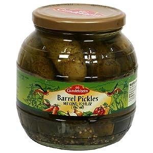 Gundelsheim Barrel Pickles -- 35.9 fl oz