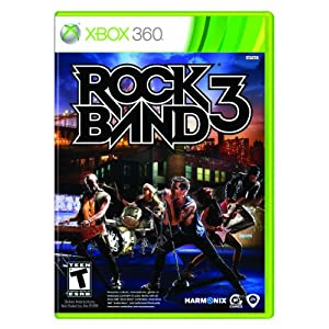 51I1WrBTBCL. AA300  Rock Band 3 W/ $10 Games Credit (Xbox 360/Wii/PS3)   $60