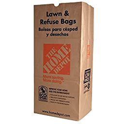 The Home Depot 30 Gal. Paper Lawn and Refuse Bags (70-count)