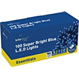 Brite Ideas Festive 100 Multiaction LED Lights, Blue