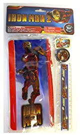 Iron Man Study Kit - Iron Man 4 Piece Study Kit