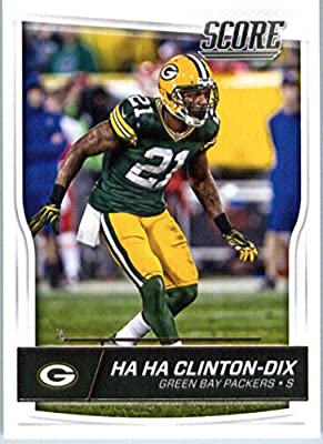 2016 Score #127 Ha Ha Clinton-Dix Green Bay Packers Football Card in Protective Screwdown Display Case