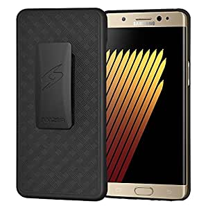 AMZER Shellster Case With Kickstand For Samsung GALAXY Note 7 SM-N930F - Black