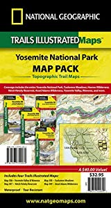Yellowstone National Park Map Pack (includes #302, #303, #304, and #305)