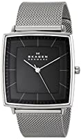"Skagen Men's SKW6130 ""Strand"" Silver-Tone Stainless Steel Watch with Mesh Band by Skagen"