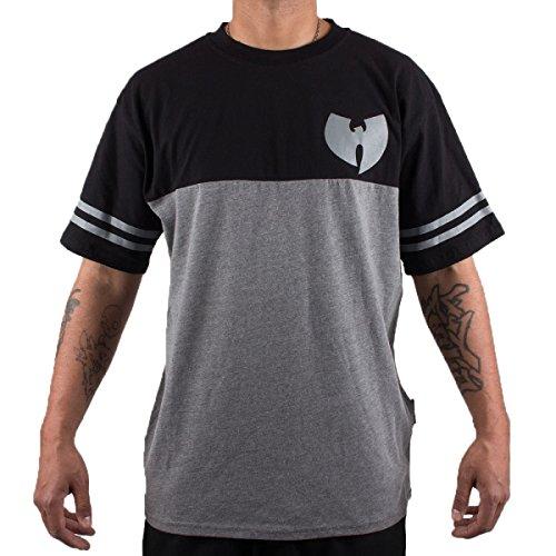 Wu Wear - Wu Tang Clan - Wu 2 Tone Shirt T-Shirt - Wu-Tang Clan Size M, Color Anthrazit