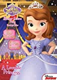 Disney Junior Sofia the First: A Loveable Princess: Sticker Scene Plus Book to Color