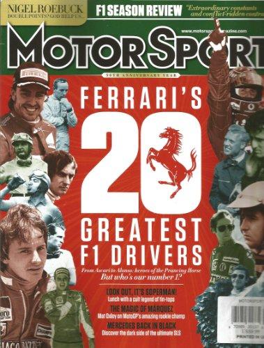 Motorsport Magazine (February 2014,Ferrari`S Greatest F1 Drivers)
