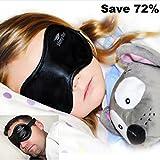 UNIQUE HOLIDAY GIFT !!! Satin Sleep More Eye Mask w/ Memory Foam Ear Plugs: Adults/Kids