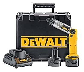 Dewalt 1/4-inch 7.2-volt Cordless Two-position Screwdriver Kit; Dw920k-2; New