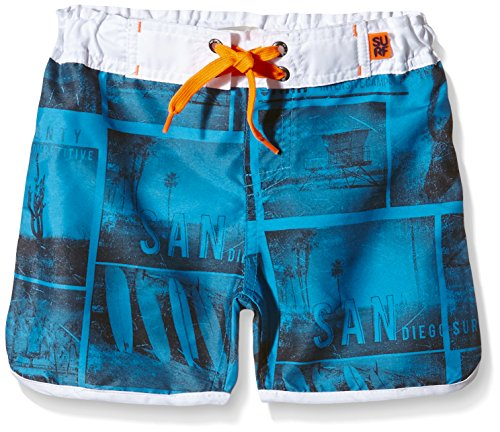NAME IT - NITZAN KIDS SHORT SHORTS 216, Shorts Bambino, Multicolore (Bright White), 10-11 anni (Taglia Produttore: 158)