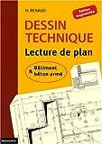 echange, troc H Renaud - Dessin technique : Lecture de plan ; Bâtiment et béton armé