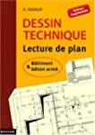 Dessin technique : Lecture de plan ;...