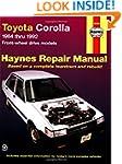 Toyota Corolla: 1984 thru 1992 Front-...