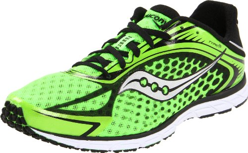 Saucony Men's Grid Type A5 Running Shoe,Slime/Black,13 M US