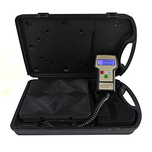 Zeny Electronic Refrigerant Scale 220LB Digital HVAC A/C Refrigerant Freon Charging Recovery Weight Scale w/ Case (#1) (Electronic Refrigerant Scale compare prices)