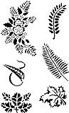 Armour's Sand Etch Stencil, Leaf