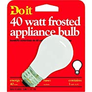 GE Private Label18335Do it Appliance Bulb-40W FROST APPLIANCE BULB