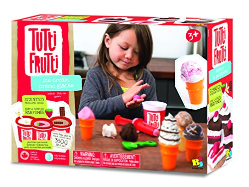 Bojeux Tutti Frutti Scented Dough Ice Cream Toy - 1