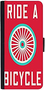 Snoogg Ride A Bicycle Poster Large 2849 Designer Protective Flip Case Cover F...