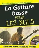 echange, troc Patrick Pfeiffer - La Guitare basse pour les nuls (1CD audio)