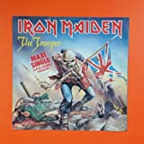 IRON MAIDEN Trooper 1C K 052 1077646 GEMA LP Vinyl VG+ Cover VG+