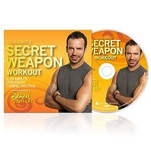 Brazil Butt Lift Leandro's Secret Weapon: 20 Minute Precision Toning DVD Workout by Beachbody