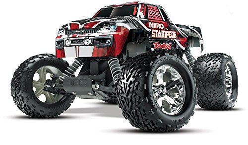 Traxxas 41094-1 Nitro Stampede: 2WD Nitro-Powered Monster Truck, Ready-To-Race (1/10-Scale), Colors May Vary