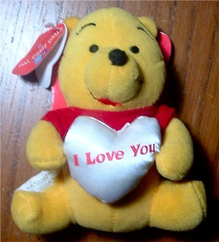 "Disney's Pooh ""Pooh Loves You"" Plush and Boardbook - 1"