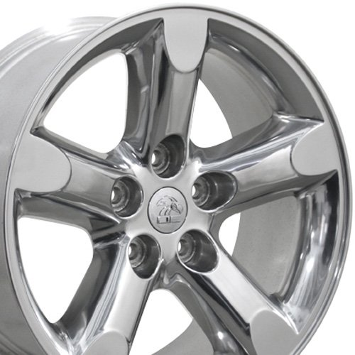 20x9 Wheel Fits Dodge Trucks - Ram 1500 Style Polished Rim (20inch Truck Rims compare prices)