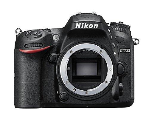 Nikon-D7200-Fotocamera-Reflex-Digitale-2472-Megapixel-Wi-Fi-incorporato-NFC-SD-8GB-200x-Premium-Lexar-colore-nero-Nital-card-4-anni-di-garanzia