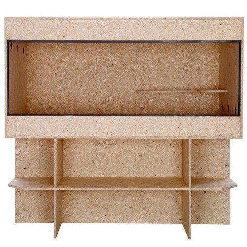 holz terrarium holzterrarium mit unterschrank 120x60x60cm seitenbel ftung. Black Bedroom Furniture Sets. Home Design Ideas