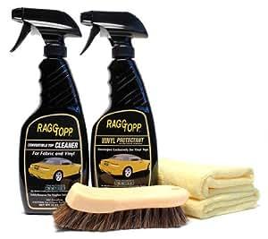 Amazon.com: RaggTopp Vinyl Convertible Top Cleaner/Protectant Kit