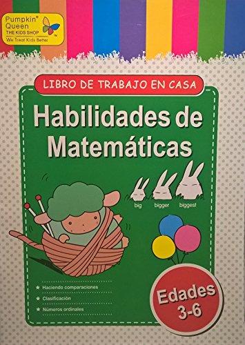 Math Count / Habilidades de Matematica. Aprende español / Learn Spanish - Libro de actividades para niños / Activities for kids - 1