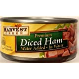 Harvest Creek Premium Diced Ham 5oz Can (Pack of 12)