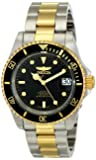 Invicta Pro Diver Unisex Automatic Watch with Analogue Display on Plated Staineless Steel Bracelet