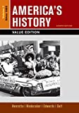 img - for America's History, Value Edition, Volume 2 book / textbook / text book