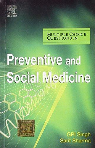 MCQs in Preventive and Social Medicine