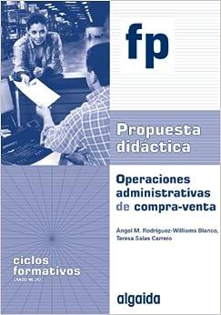 P.D. Operaciones administrativas de compra-venta: Ciclo