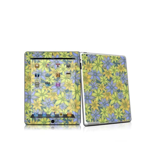 Paisley Flower Design Protective Decal Skin Sticker for Apple iPad 2nd Gen Tablet E Reader