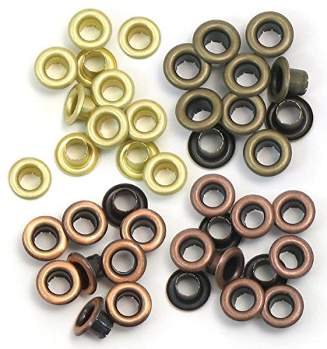 Occhielli Standard 60/Pkg-caldo metallo