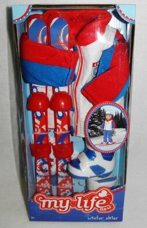 My Life As a Winter Skier Doll Clothing Accessory Set - 1