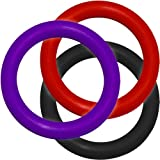 OptiSex Premium Silicone Erection Control Ring ASSORTED COLORS (Quantity of 1)