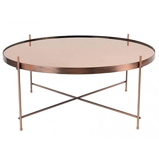 Zuiver tavolino Cupid in rame 82.5x 35cm