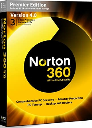 Norton 360 v4.0 Premier Edition - 1 User 3 (PC)