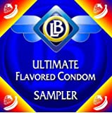 Flavoured Condoms - Mission: Great Sex! Ultimate FLAVOURED Condom Sampler - GLYDE Condoms (organic condom condoms) / ONE Condoms - Condom Variety Pack / Flavored Condoms