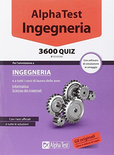 Alpha Test Ingegneria 3600 quiz Con software di simulazione PDF