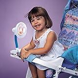 Kelgar Baby Stroller Pinwheel battery operated Clip on cooling personal FAN blowing