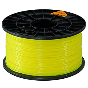 justpla - High Quality Yellow 1.75mm PLA Filament for 3D Printers from justpla