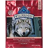 Blue Buffalo Wilderness Grain Free Dry Dog Food, Salmon Recipe, 24-Pound Bag